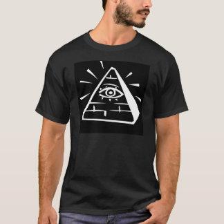 Eye In The Pyramid - black T-Shirt