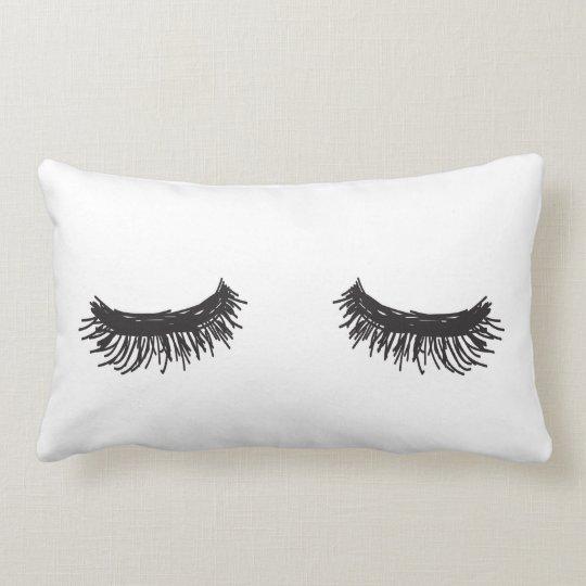 Eye lashes Pillow
