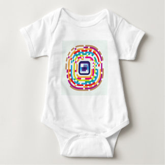 Eye Lens Abstract Baby Bodysuit