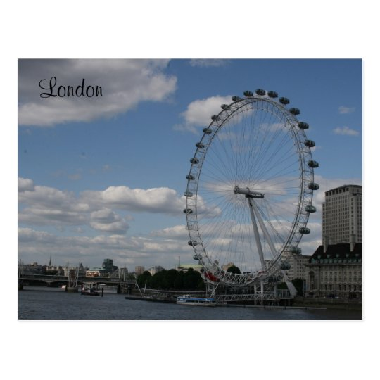 eye london postcard
