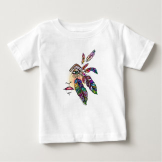 EYE Love FEATHERS Fantasy Art Baby T-Shirt