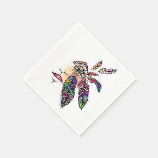 EYE Love FEATHERS Fantasy Art Paper Napkins