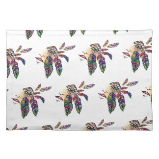 EYE Love FEATHERS Fantasy Art Placemat