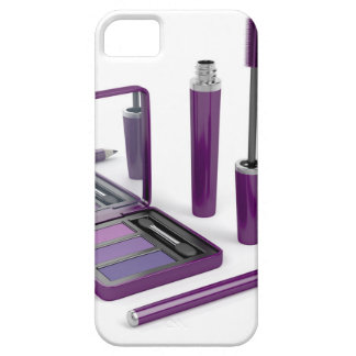 Eye make-up set case for the iPhone 5