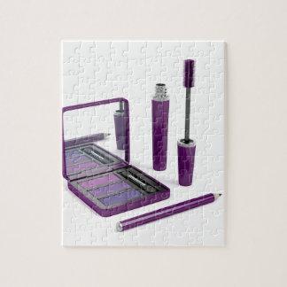Eye make-up set jigsaw puzzle