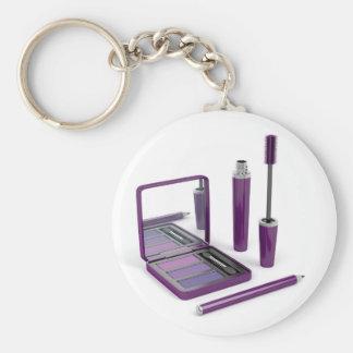 Eye make-up set keychain