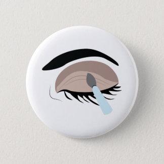 Eye Makeup 2 Inch Round Button