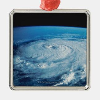 Eye of a Hurricane Metal Ornament