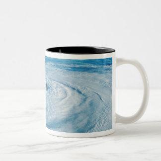 Eye of a Hurricane Two-Tone Coffee Mug