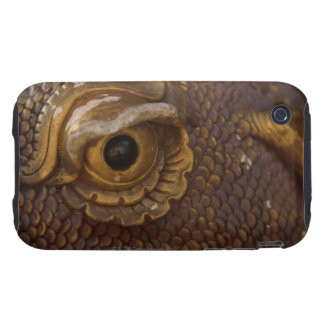 Eye of dragon statue tough iPhone 3 covers