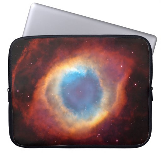 Eye of God Helix Nebula Cosmic Clouds Stars Laptop Sleeves