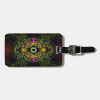 Eye of God - Vesica Piscis Luggage Tag