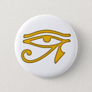 Eye of Horus 2 Inch Round Button