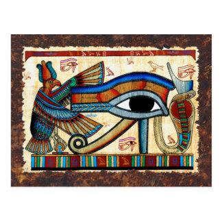 EYE OF HORUS Ancient Egyptian Art Postcard