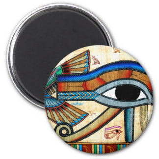 EYE OF HORUS Egyptian Art History Series 2 Inch Round Magnet
