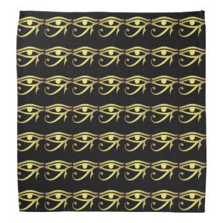 Eye of horus Egyptian symbol black Bandana