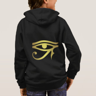 Eye of horus Egyptian symbol kid's hoodie