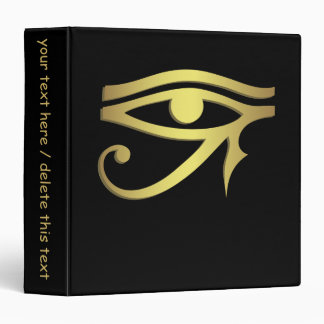 Eye of horus Egyptian symbol Vinyl Binders