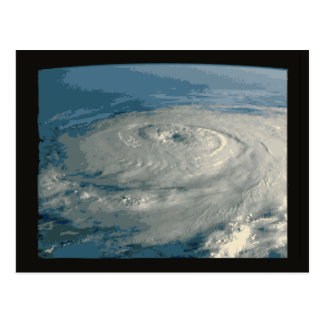 Eye of Hurricane Postcard