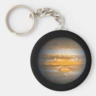 Eye of Jupiter Planet from Outer Space Keychain