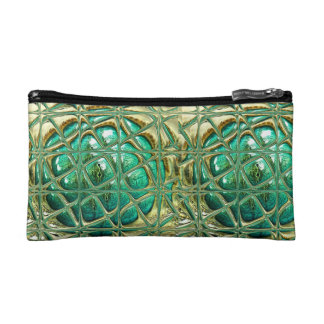 Eye of lizard cosmetic bag