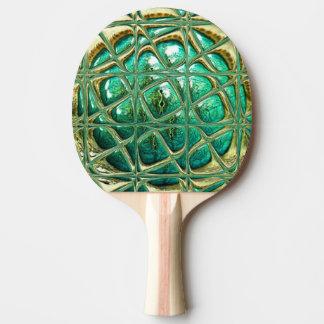 Eye of lizard ping pong paddle