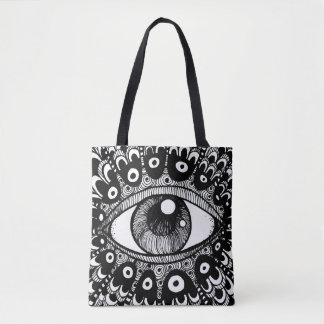 Eye of March Tote Bag