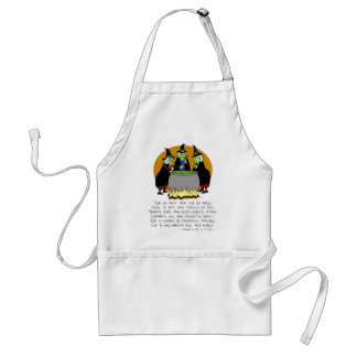 Eye Of Newt 3 Witches Standard Apron