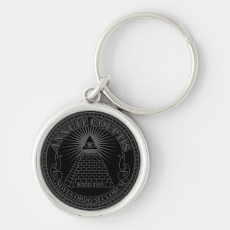 Eye of Providence 2 Keychain