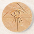 Eye of Providence Stone Coaster