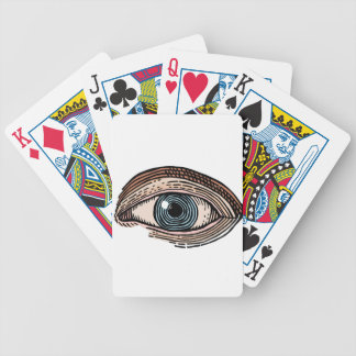Eye of Providence (transparent) Bicycle Playing Cards