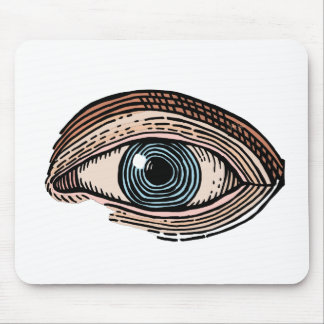 Eye of Providence (transparent) Mouse Pad