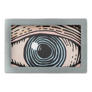 Eye of Providence (transparent) Rectangular Belt Buckles