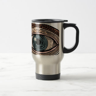 Eye of Providence (transparent) Travel Mug