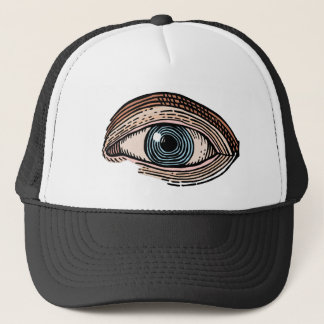 Eye of Providence (transparent) Trucker Hat