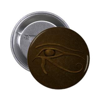 Eye of Ra 2 Inch Round Button
