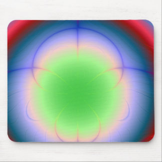 Eye of the Aurora Storm Abstract Art Mousepad