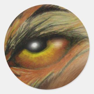 Eye of the Beast Classic Round Sticker