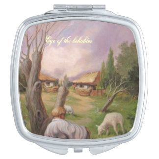 Eye of the Beholder Compact Mirror