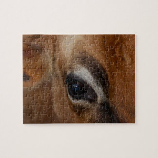 Eye of the Cow Jigsaw Puzzle