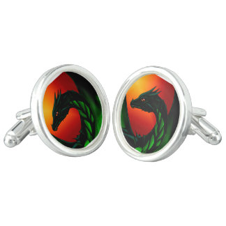 Eye of the Dragon Cuff Links