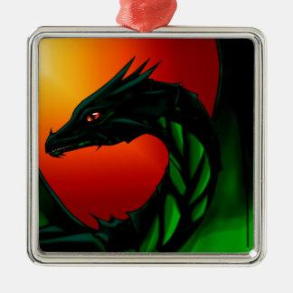 Eye of the Dragon Metal Ornament