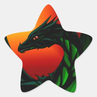 Eye of the Dragon Star Sticker