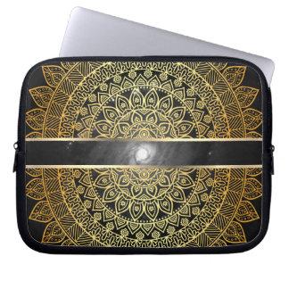 Eye of the Galaxy / Golden Laptop Sleeve