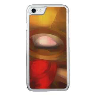 Eye of the Gods Pastel Abstract Carved iPhone 7 Case