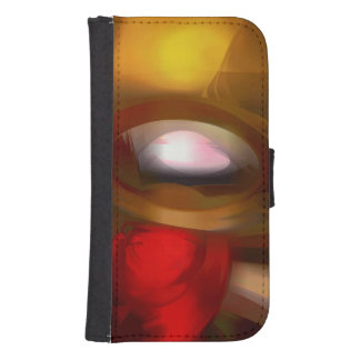Eye of the Gods Pastel Abstract Phone Wallets