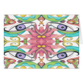 Eye of the Jungle Card