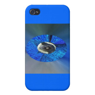 Eye of The Peacock iPhone 4 Covers