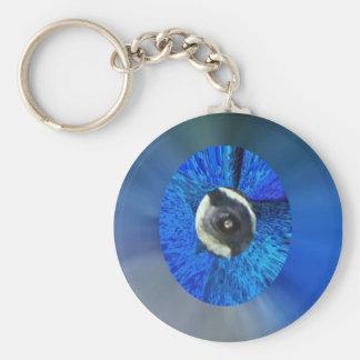 Eye of the Peacock Keychain