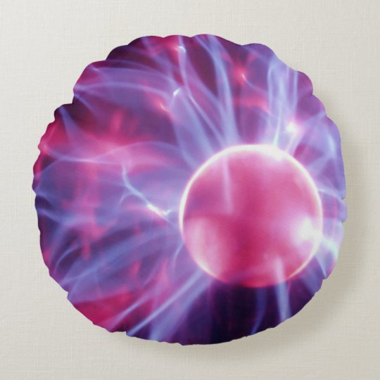 Eye of the Storm 1 Round Pillow